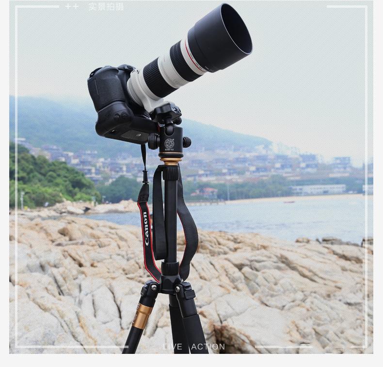 monopod shtativ q 666 trenoga dlja kamery 02 - Монопод-штатив Q-666 (тренога для камеры) – режимы макросъемки, панорамирование