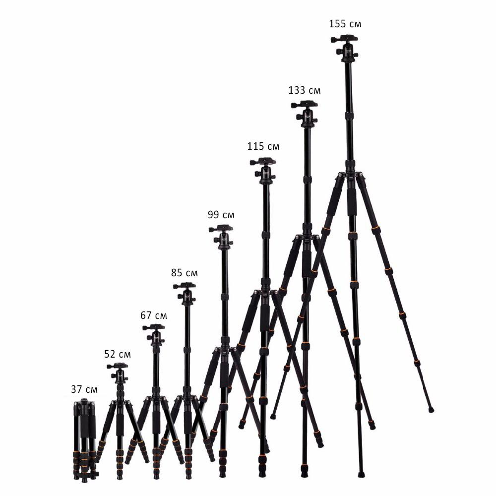 monopod shtativ q 666 trenoga dlja kamery 06 - Монопод-штатив Q-666 (тренога для камеры) – режимы макросъемки, панорамирование