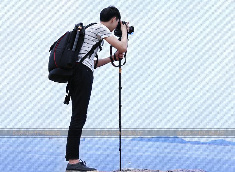 monopod shtativ q 666 trenoga dlja kamery 15 - Монопод-штатив Q-666 (тренога для камеры) – режимы макросъемки, панорамирование