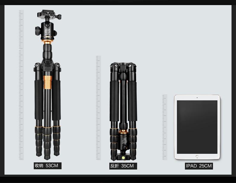 monopod shtativ q 666 trenoga dlja kamery 18 - Монопод-штатив Q-666 (тренога для камеры) – режимы макросъемки, панорамирование