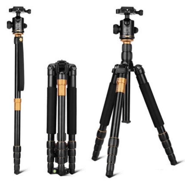 monopod shtativ q 666 trenoga dlja kamery 19 - Монопод-штатив Q-666 (тренога для камеры) – режимы макросъемки, панорамирование