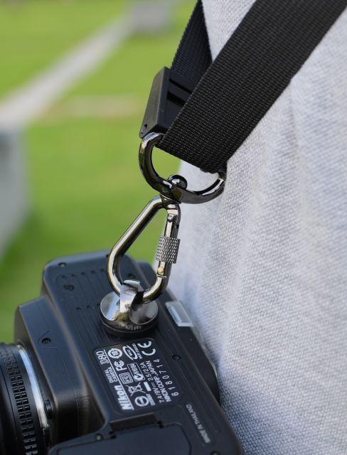 plechevoj remen focus f1 dlja kamery 07 - Плечевой ремень Focus F1 для камеры – быстроразъемный
