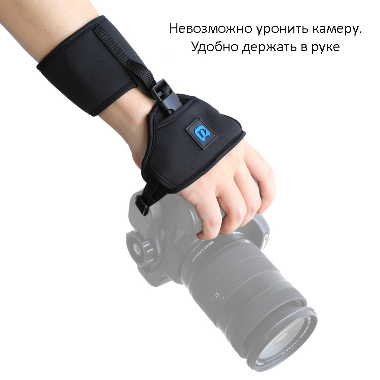 stabilizirujushhij naruchnyj remeshok puluz dlja kamery 06 - Стабилизирующий наручный ремешок PULUZ для камеры