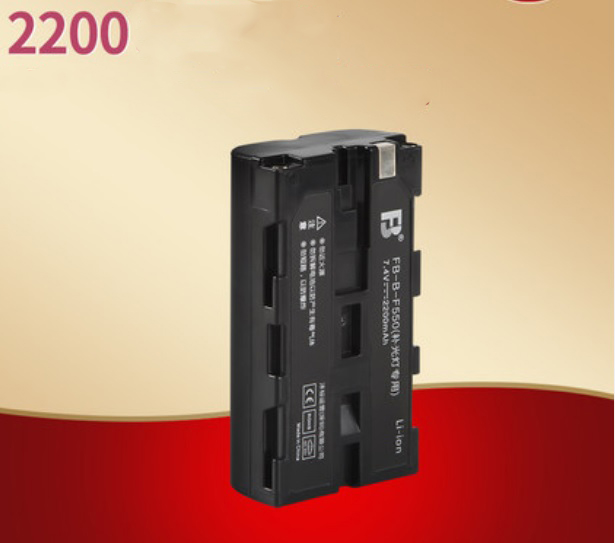 Внешний аккумулятор NP-F550/ FM570 для видеосвета Viltrox и другой фототехники
