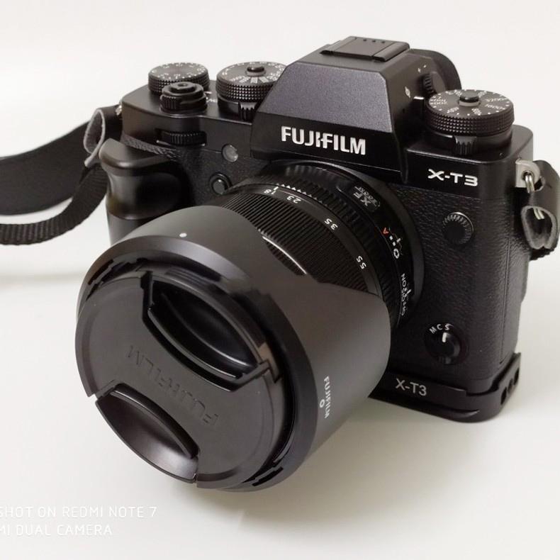 dopolnitelnyj hvat dlja fuji x t3 hand grip dlja kamery 03 - Дополнительный хват для Fuji X-T3 (Hand Grip для камеры)