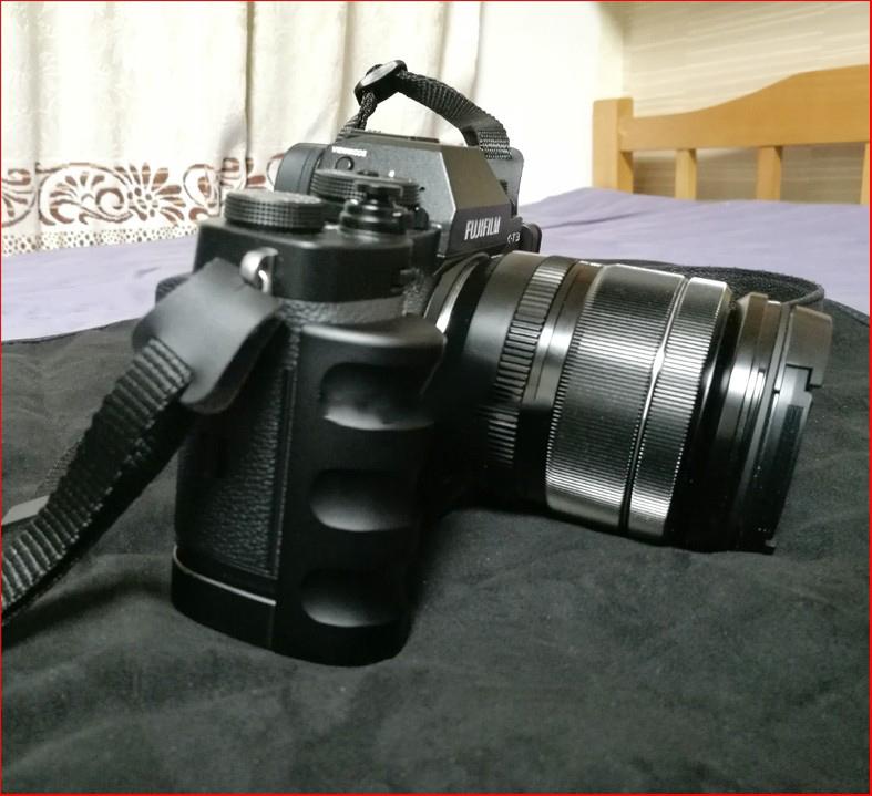 dopolnitelnyj hvat dlja fuji x t3 hand grip dlja kamery 17 - Дополнительный хват для Fuji X-T3 (Hand Grip для камеры)