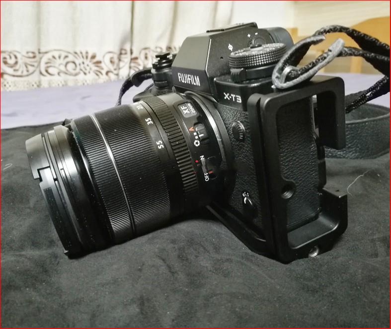 dopolnitelnyj hvat dlja fuji x t3 hand grip dlja kamery 19 - Дополнительный хват для Fuji X-T3 (Hand Grip для камеры)