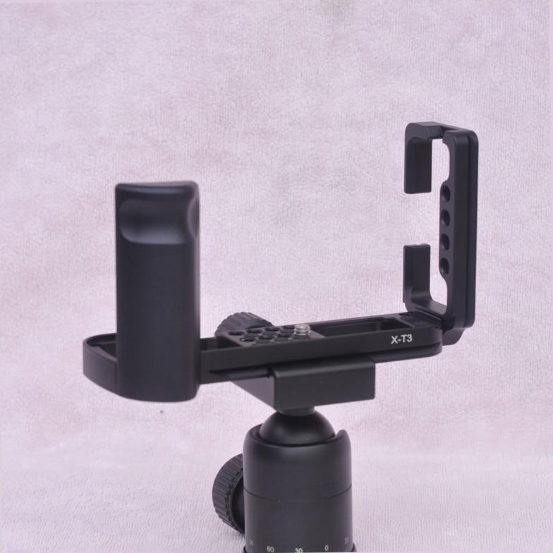 hand grip dlja fuji x t3 dopolnitelnyj hvat dlja kamery s kreplenijami djujma 05 - Hand Grip для Fuji X-T3 (дополнительный хват для камеры) с креплениями ¼ дюйма