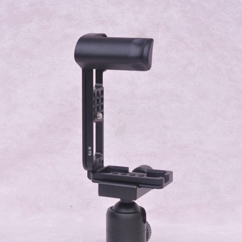 hand grip dlja fuji x t3 dopolnitelnyj hvat dlja kamery s kreplenijami djujma 16 - Hand Grip для Fuji X-T3 (дополнительный хват для камеры) с креплениями ¼ дюйма