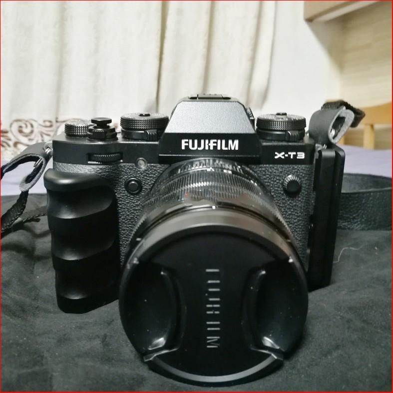 hand grip dlja fuji x t3 dopolnitelnyj hvat dlja kamery s kreplenijami djujma 20 - Hand Grip для Fuji X-T3 (дополнительный хват для камеры) с креплениями ¼ дюйма