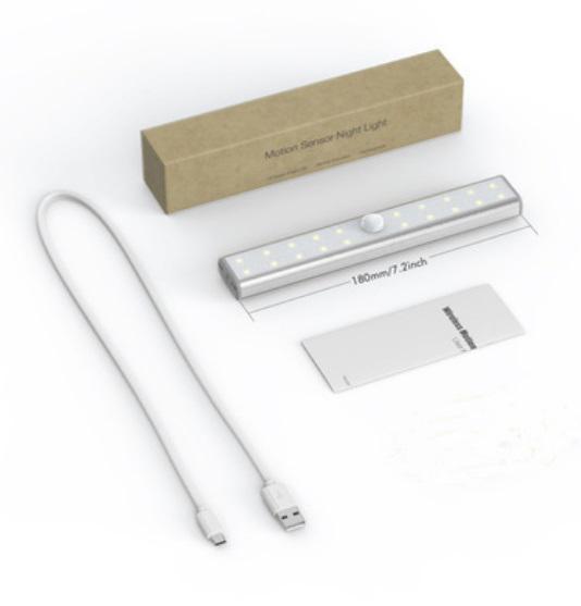 svetodiodnyj usb svetilnik s datchikom dvizhenija 20 svetodiodov 04 - Светодиодный USB-светильник с датчиком движения – 20 светодиодов