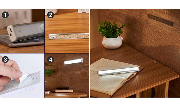 svetodiodnyj usb svetilnik s datchikom dvizhenija 20 svetodiodov 12 - Светодиодный USB-светильник с датчиком движения – 20 светодиодов