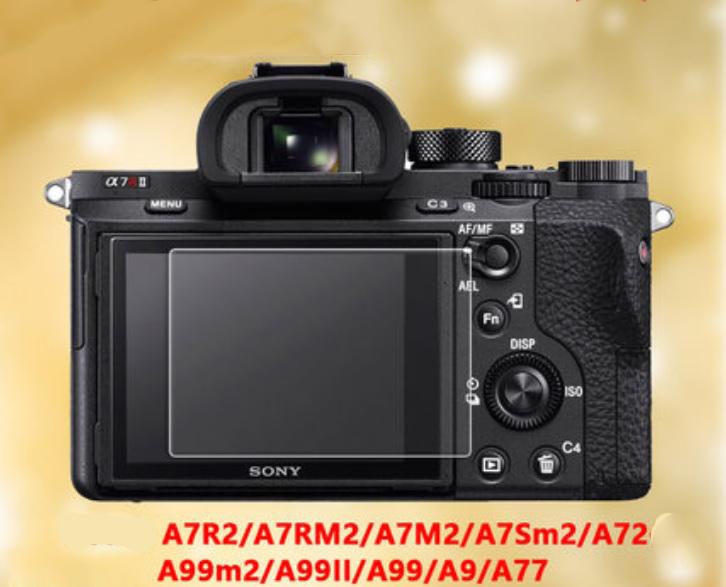 Закаленное стекло для фотоаппарата Sony A72, A7R2, A7S2, A7M2, A7RM2, A73, A7R3, A7S3, A7M3, A7ІІІ, А77, А99