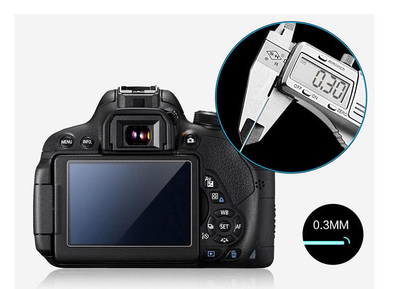 HD защитное стекло для Nikon D3000 D3100 D3200 D3300 D3400 D3500 – ударопрочное, закаленное