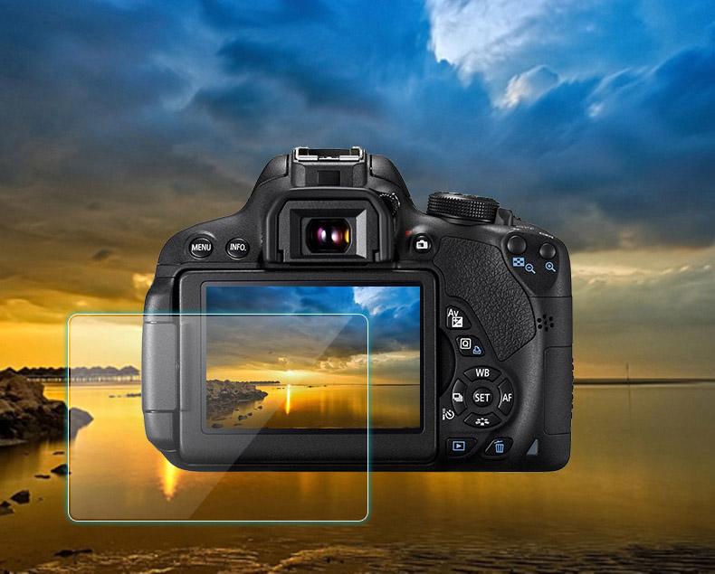Закаленное защитное стекло для камеры Fuji X-T3 – комплект 3 стекла