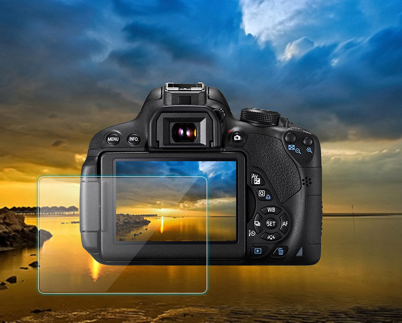 zakalennoe zashhitnoe steklo dlja kamery fuji x t3 komplekt 3 stekla 02 - Закаленное защитное стекло для камеры Fuji X-T3 – комплект 3 стекла