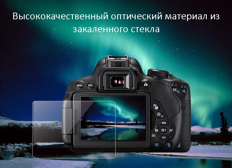 Защитное стекло для камеры Canon EOS R