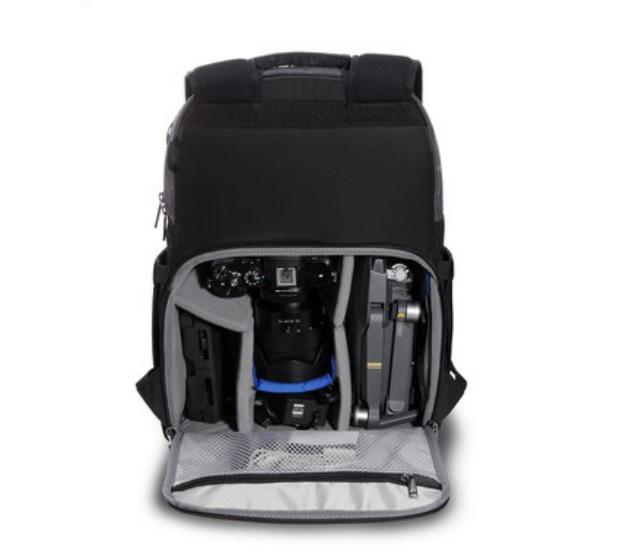Фоторюкзак Benro Traveler 200: нейлон, водозащита, защита от воров, ремни для штатива