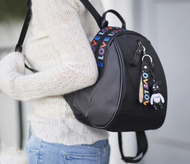 Кожаный мини-рюкзак Mikato