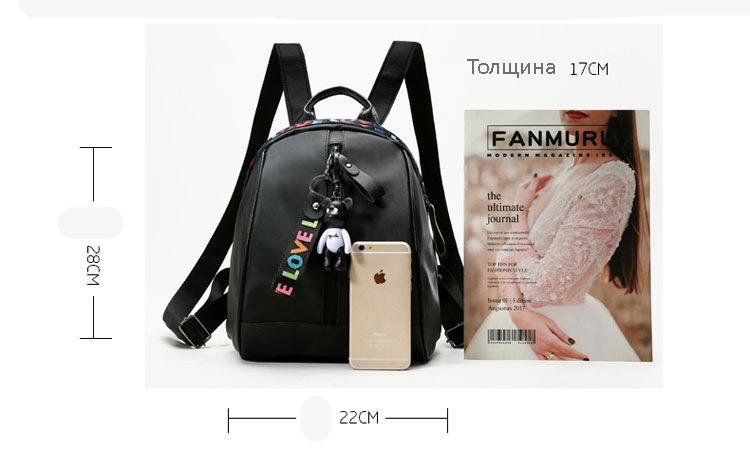 kozhanyj mini rjukzak mikato 13 - Кожаный мини-рюкзак Mikato