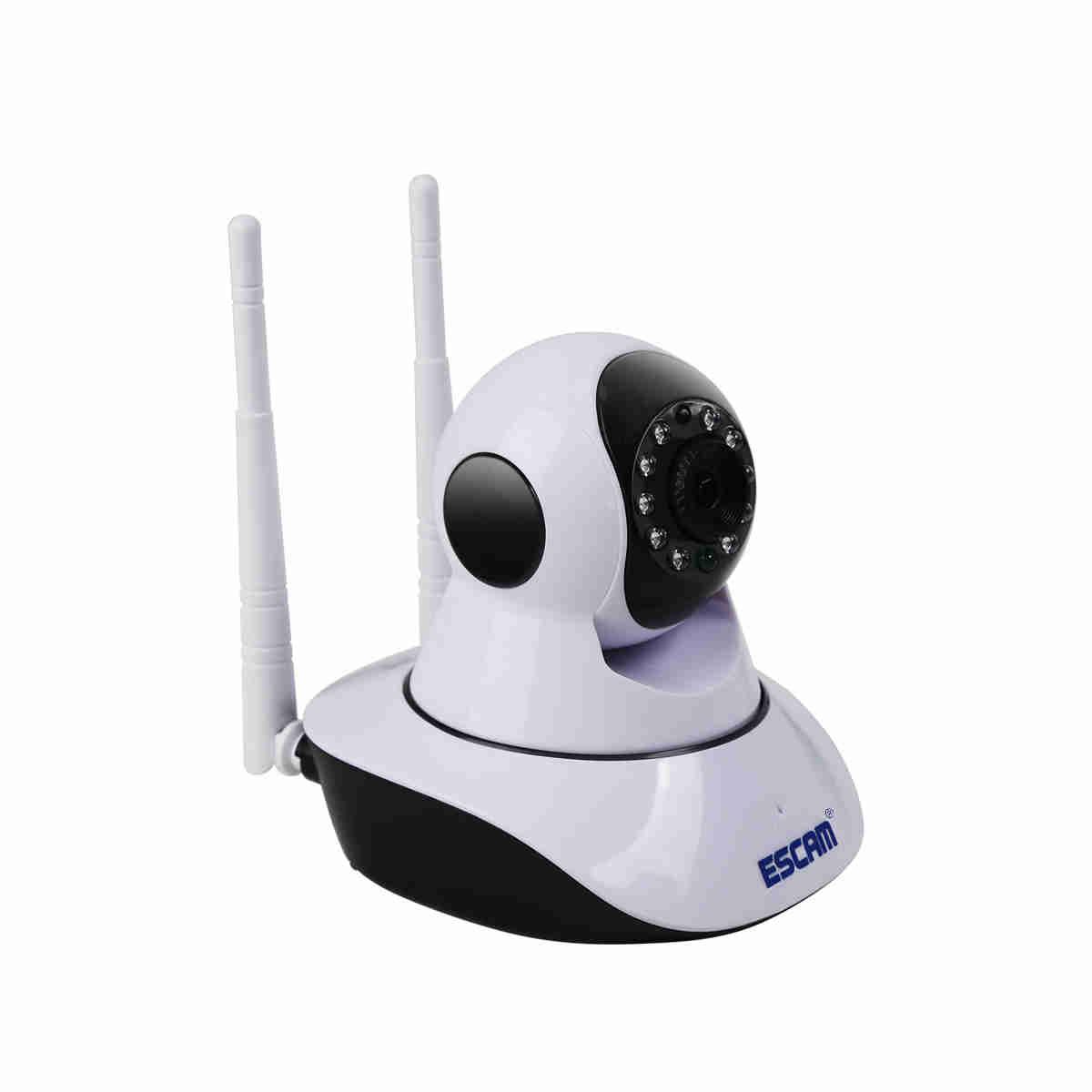 Поворотная IP-камера ESCAM G02 – 720р, удаленное управление, ночное видение, датчик движения 229672