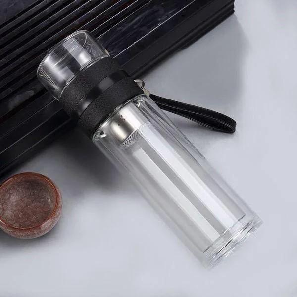 Чайный инфузер 01 - Чайный инфузер, заварник для чая, термокружка из боросиликатного стекла