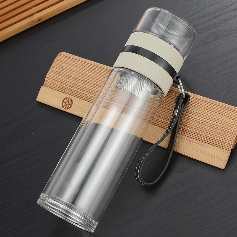 Чайный инфузер 05 - Чайный инфузер, заварник для чая, термокружка из боросиликатного стекла