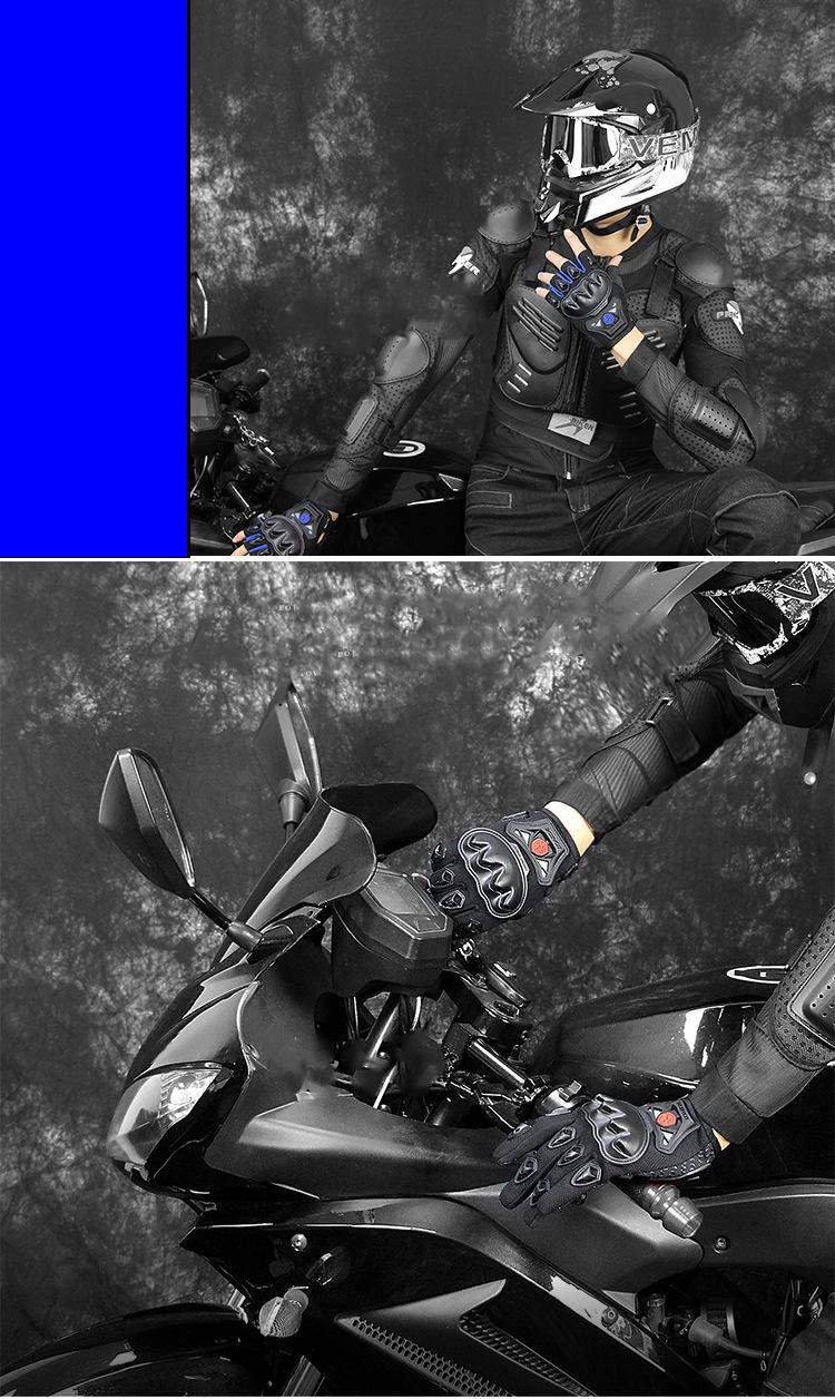 sportivnye velo moto perchatki s polupalcami muzhskie i zhenskie scoyco 08 - Спортивные вело-, мото-перчатки с полупальцами мужские и женские Scoyco