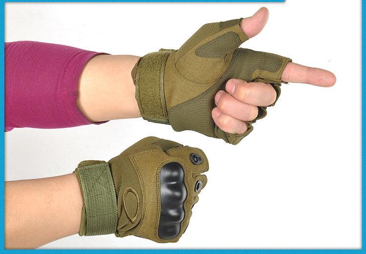 armejskie takticheskie perchatki s polupalcami oskar1554 03 1 - Армейские тактические перчатки с полупальцами Oskar1554