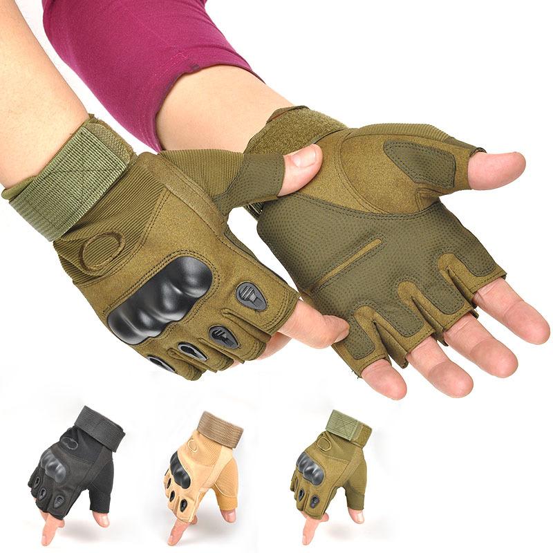 рмейские тактические перчатки с полупальцами Oskar1554