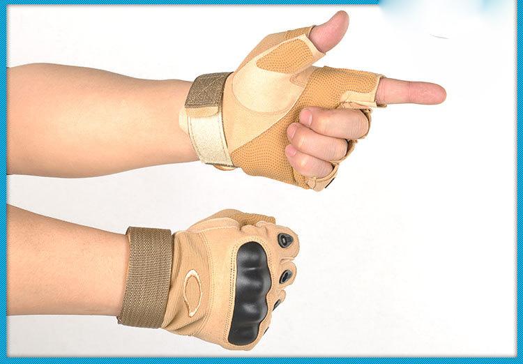 armejskie takticheskie perchatki s polupalcami oskar1554 11 - Армейские тактические перчатки с полупальцами Oskar1554