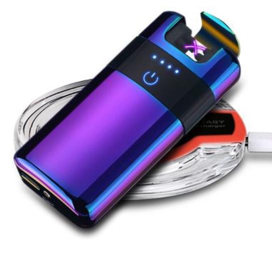 besprovodnaja jelektroimpulsnaja usb zazhigalka primo premium besprovodnaja zarjadka 04 - Беспроводная электроимпульсная USB-зажигалка Primo Premium + беспроводная зарядка в ПОДАРОК