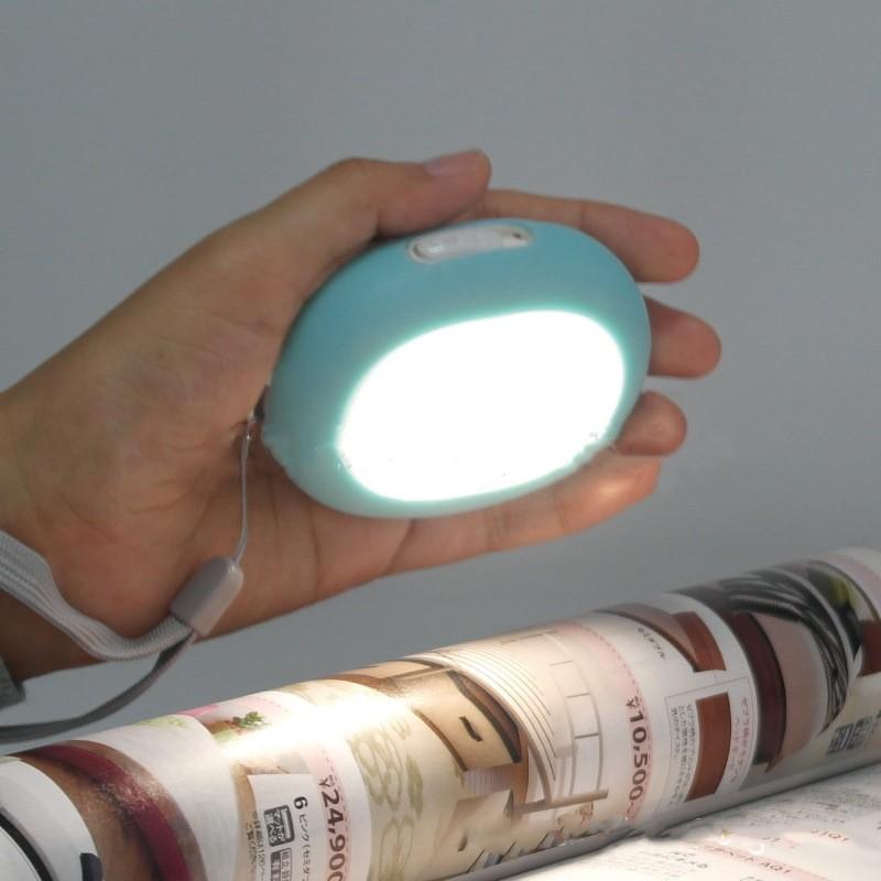 karmannaja grelka usb grelka dlja ruk heat up co svetodiodnym fonarikom 08 - Карманная грелка (USB-грелка) для рук Heat Up cо светодиодным фонариком