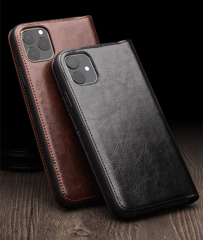 Кожаный чехол для iPhone11/ Pro/ Pro Max с портмоне