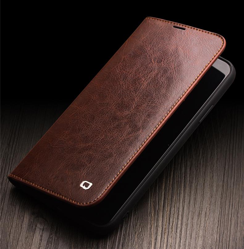 kozhanyj chehol dlja iphone11 pro pro max s portmone 18 - Кожаный чехол для iPhone 11 Pro Pro Max с портмоне QIALINO
