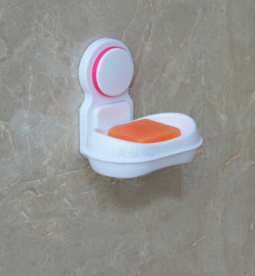 nastennaja mylnica v vannuju soapphire 04 1 - Настенная мыльница в ванную Soapphire: прочные присоски, поддон, ABS-пластик
