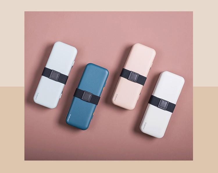 shvejnyj nabor v futljare sewing kit 16 - Швейный набор в футляре Sewing Kit: 16 катушек нити, набор игл, нитенаправитель, наперсток, ножницы
