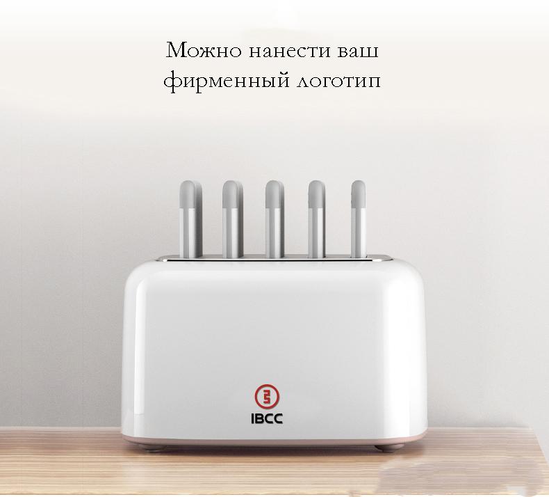 zarjadnaja stancija share box s vneshnimi akkumuljatorami 04 - Зарядная станция Share Box с внешними аккумуляторами – 5 х 5000 мАч/ 5 х 10000 мАч, Micro USB + 3 Lightning + Tipe C