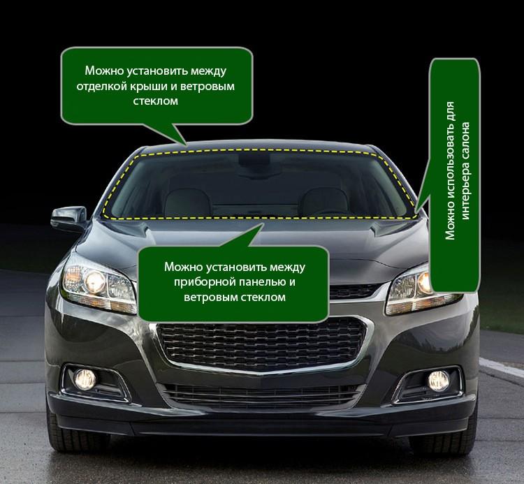 avtomobilnyj uplotnitel dlja pribornoj paneli 16 m 02 - Автомобильный уплотнитель для приборной панели 1,6 м – силикагель