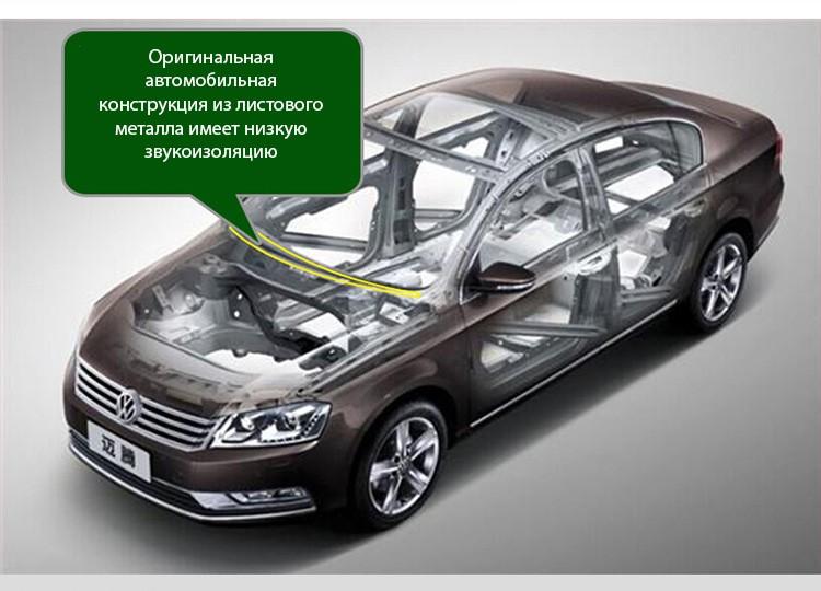 avtomobilnyj uplotnitel dlja pribornoj paneli 16 m 15 - Автомобильный уплотнитель для приборной панели 1,6 м – силикагель