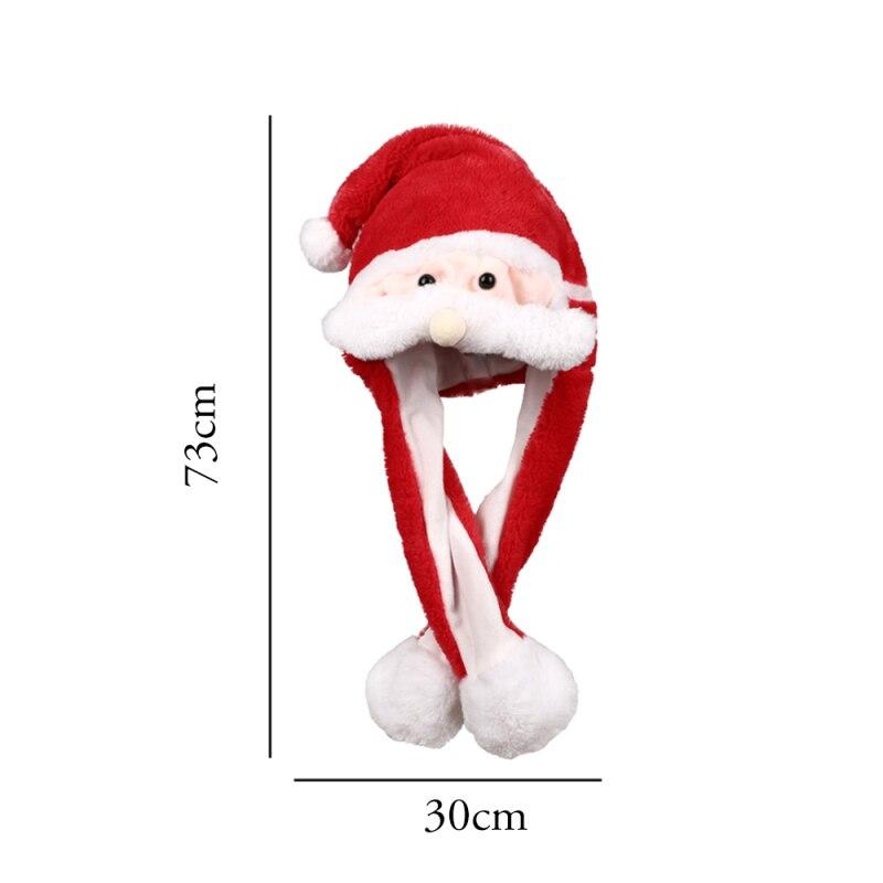 h677983206c5947218a36b309b6bf2907n - Новогодняя шапка Деда Мороза светящаяся с длинными завязками, шевелятся усы