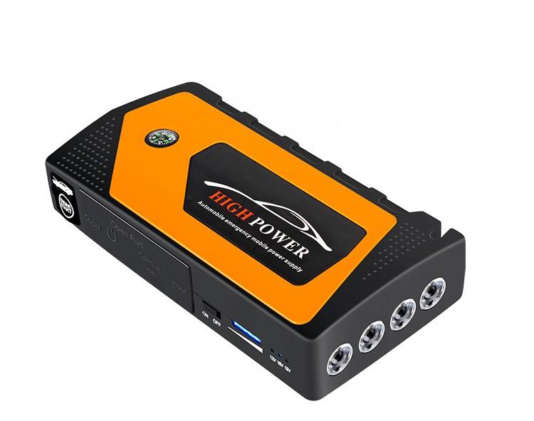 prikurivatel dlja avtomobilja jump starter jx28 600a 07 - Прикуриватель для автомобиля Jump Starter JX28 600А, 12В: 18000 мАч, 4 х USB 5V 2A, стартер-кабели, адаптеры
