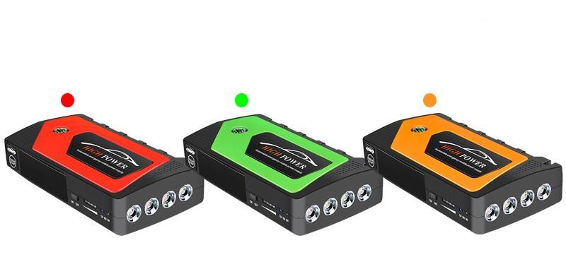 prikurivatel dlja avtomobilja jump starter jx28 600a 21 1 - Прикуриватель для автомобиля Jump Starter JX28 600А, 12В: 18000 мАч, 4 х USB 5V 2A, стартер-кабели, адаптеры
