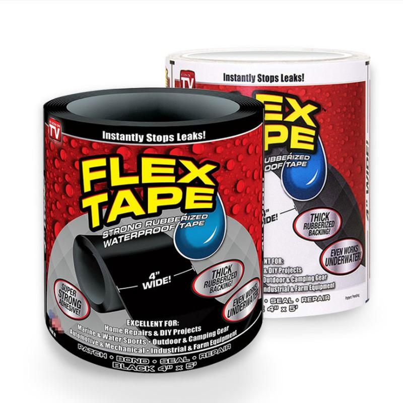 Сверхсильная клейкая лента Flex Tape (водонепроницаемая изолента)