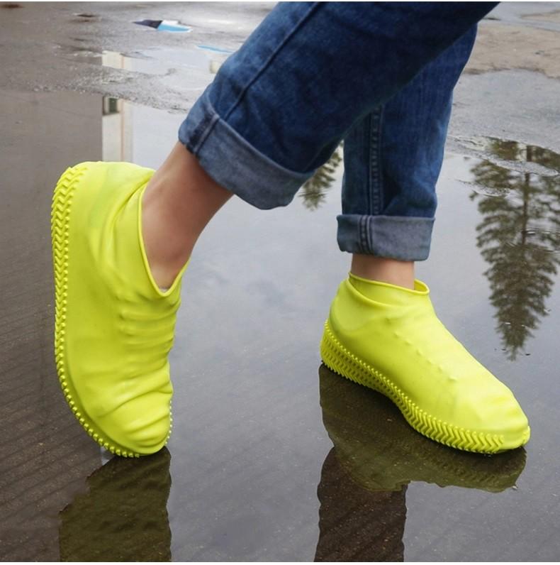Чехлы на обувь от дождя, драйстепперы, многоразовые бахилы Cool&Clean 241173