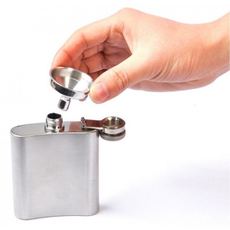 lejka dlya flyagi acecamp ss flask funnel - Стальная лейка, воронка для фляги NezhaLejka