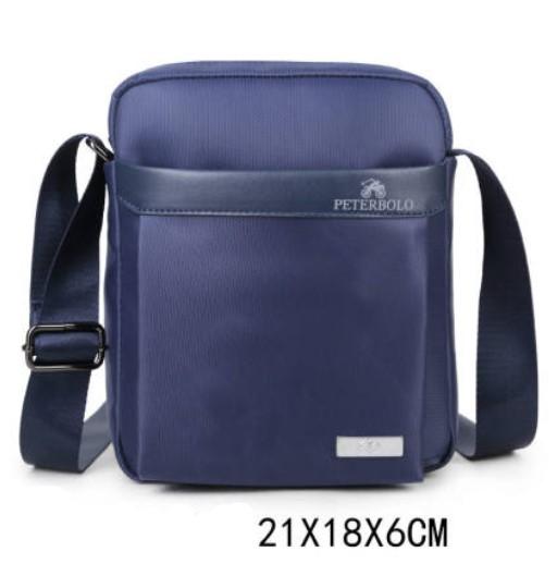 Мужская деловая сумка через плечо Peterbolo Maskilli Business: с USB-портом и без 243696
