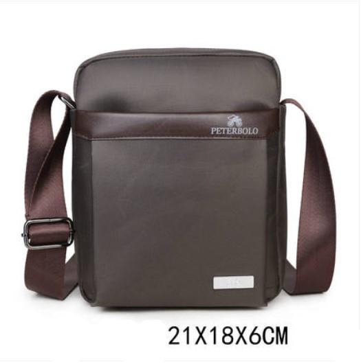 Мужская деловая сумка через плечо Peterbolo Maskilli Business: с USB-портом и без 243699