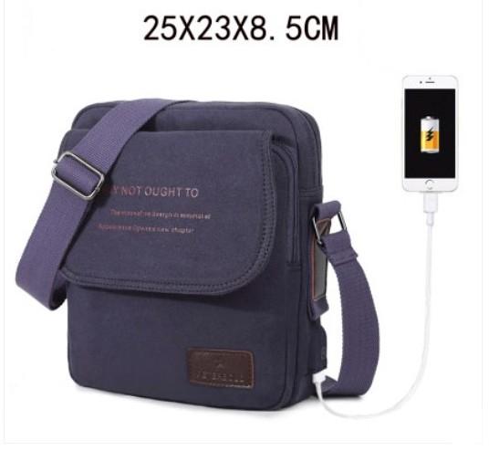 muzhskaja sumka cherez plecho peterbolo maskilli 22 - Мужская плечевая USB-сумка Peterbolo Maskilli со встроенным USB-портом