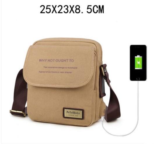 muzhskaja sumka cherez plecho peterbolo maskilli 30 - Мужская плечевая USB-сумка Peterbolo Maskilli со встроенным USB-портом